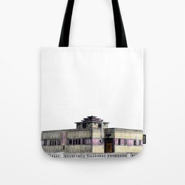GALLERY SQUARE CHALET Tote Bag