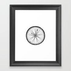 Bike Time Framed Art Print