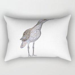 Suspicious Curlew Rectangular Pillow