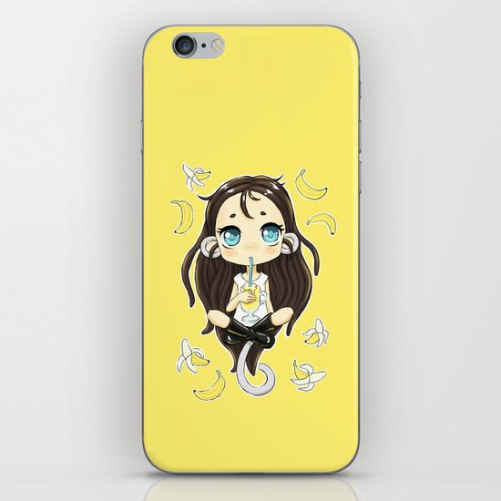 Banana Milkshake iPhone & iPod Skin