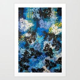 Night Butterflies Art Print