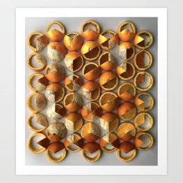 Peelometric Art Print