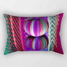 The colour of crystal balls. Rectangular Pillow
