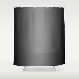 Black to Gray Vertical Bilinear Gradient Shower Curtain