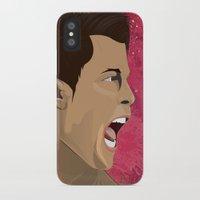 ronaldo iPhone & iPod Cases featuring Cristiano Ronaldo by Pastran Designs