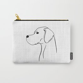 English Pointer (Black and White) Carry-All Pouch
