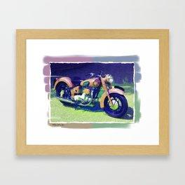 Sunbeam Motorcycle Framed Art Print