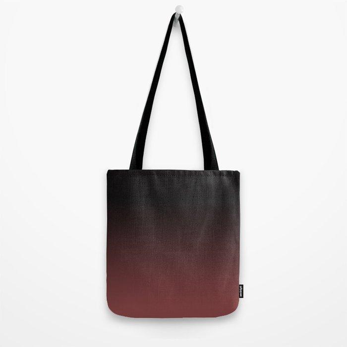 Marsala Ombre Tote Bag