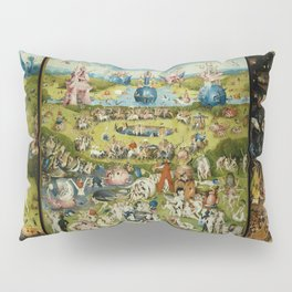 Hieronymus Bosch The Garden Of Earthly Delights Pillow Sham
