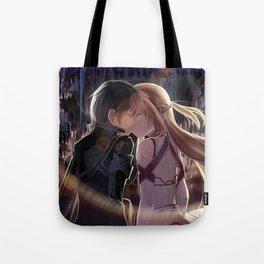 Kirito and Asuna Tote Bag
