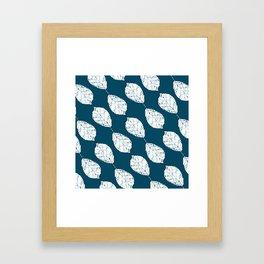 Beech Leaves Framed Art Print