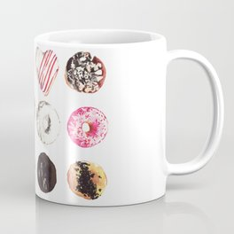 Assorted Donuts Valentine's Day Krispy Kreme Sprinkles Hearts Coffee Mug