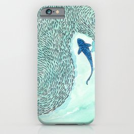 Tiger Shark Hunting iPhone Case