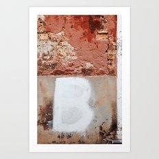 BBBB Art Print