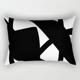 Hidden Letters. Baskerville N Rectangular Pillow