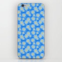 Inspirational Glitter & Bubble pattern iPhone Skin