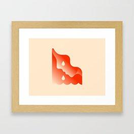 Cry me a river! Framed Art Print