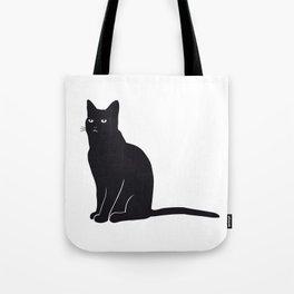 Black Cat Fabi Tote Bag