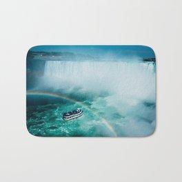 Niagara Falls Rainbow Bath Mat