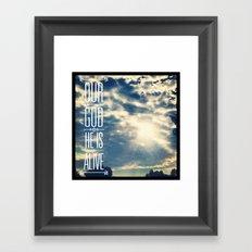 728b Framed Art Print