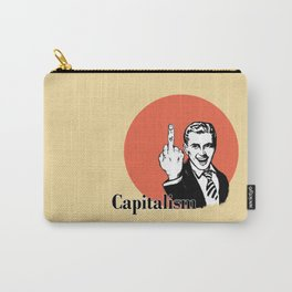 Fuck capitalism Carry-All Pouch