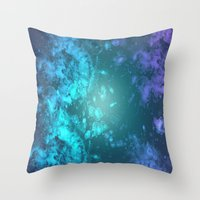 biology Throw Pillows featuring Biology by Ashley