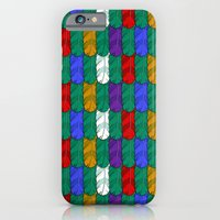 Feathers Pattern Slim Case iPhone 6s