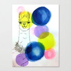 You're so llovable - llama Canvas Print