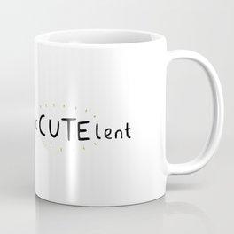 SucCUTElent Coffee Mug