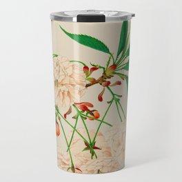 Fugen's Elephant Cherry Blossoms Travel Mug