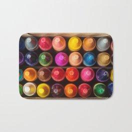 Crayons Bath Mat