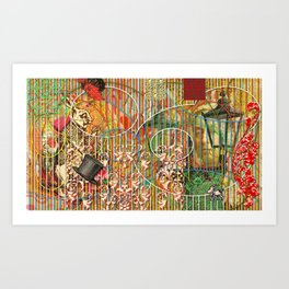 Being for the Benefit of Mr. Liddell's Daughters Art Print