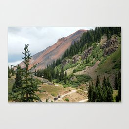 Road to the Longfellow Mine, elevation 11,080 feet Canvas Print