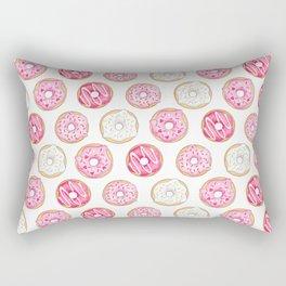 Pink Donuts Rectangular Pillow