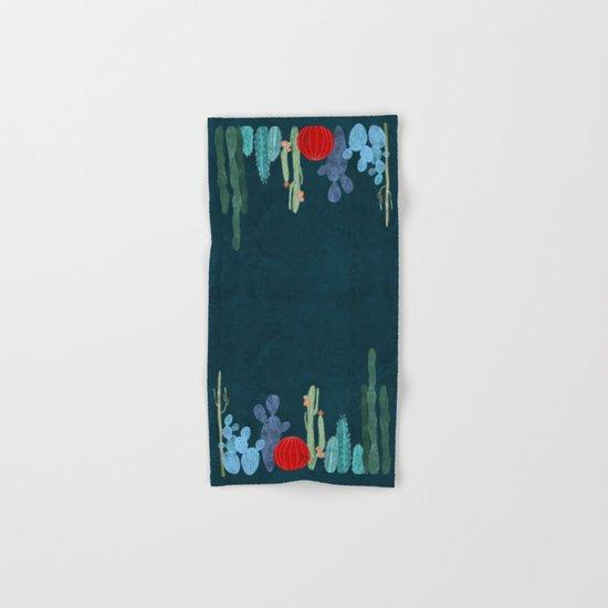 Cactus garden Hand & Bath Towel
