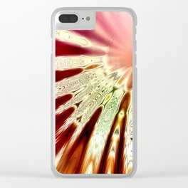 Boho Summer Clear iPhone Case