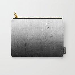 Black Ombre Concrete Texture Carry-All Pouch