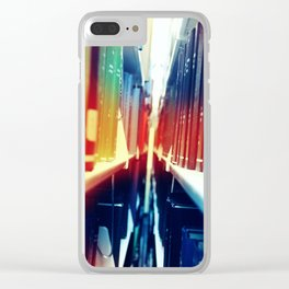 Shelves and Shelves Clear iPhone Case