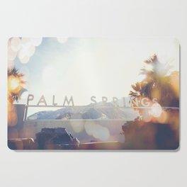 Palm Springs Bokeh Cutting Board