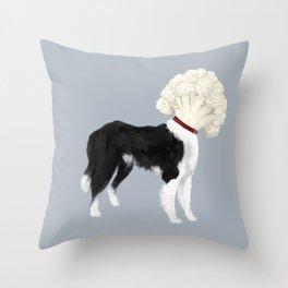 Border Cauliflower Throw Pillow