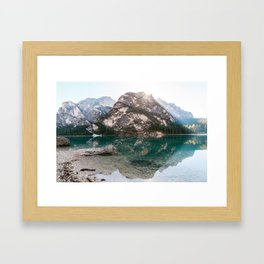 You Are My Rock Framed Art Print