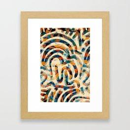 Pattern № 92 Framed Art Print