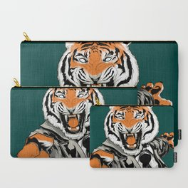 Belligerent Bengal Carry-All Pouch