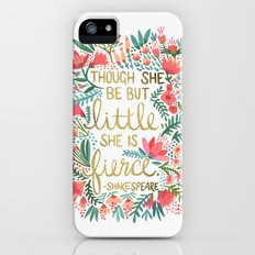 Little & Fierce iPhone (5, 5s) Slim Case