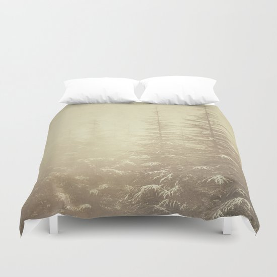 """""""Waiting for you...."""" Mistery forest. Duvet Cover"""