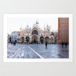 Venezia, San Marco Art Print
