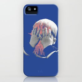 my face is a mess iPhone Case