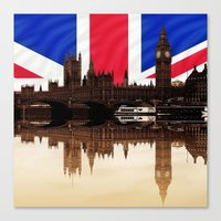 politics Canvas Prints featuring British politics by Shalisa Photography