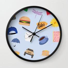 Gilmore Girls World Wall Clock