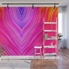 stripes wave pattern 3 sm60i Wall Mural